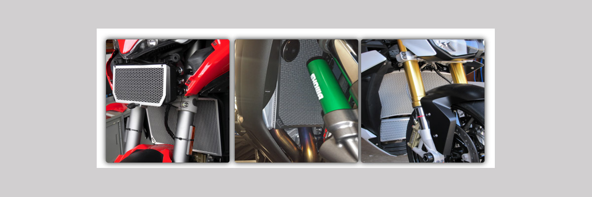 Radiator Grills and Oil Cooler Guards